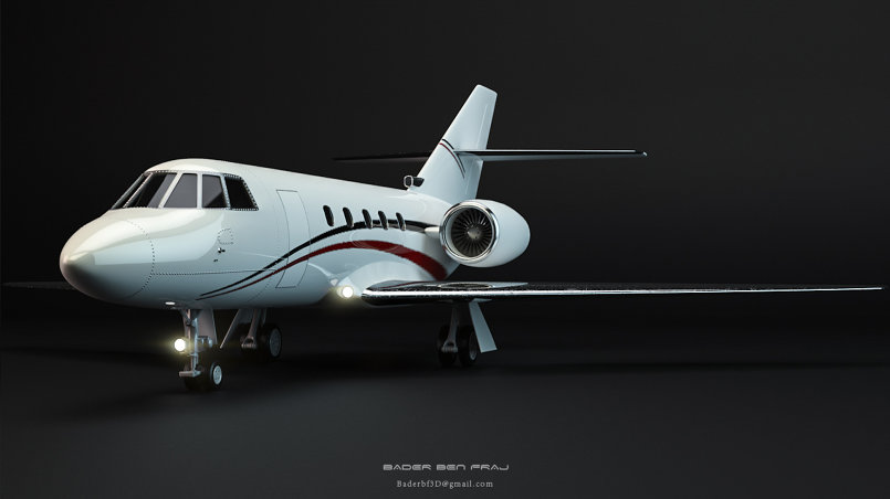 Luxurious Private JET
