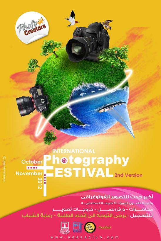 Photo Creators Festival Poster