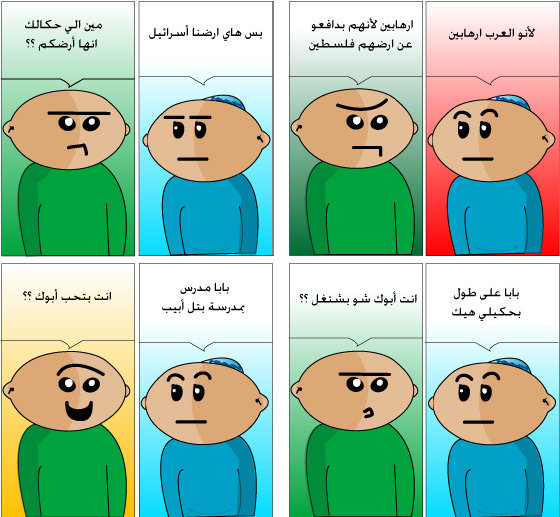 A dialogue by Mohammed Haitham Ajaj. Where will his story lead us to?