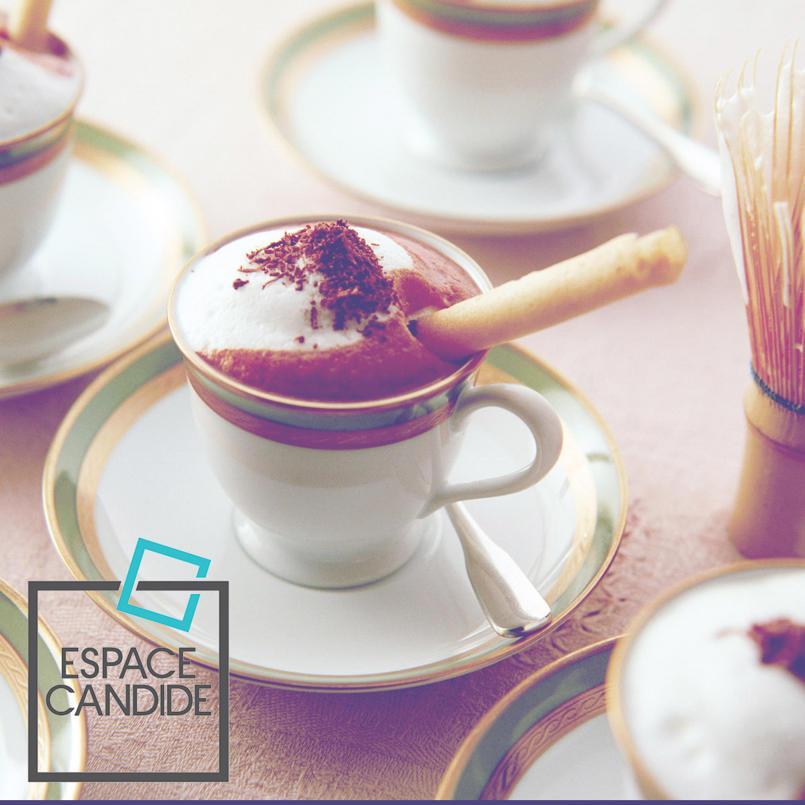Espace Candide facebook page designs