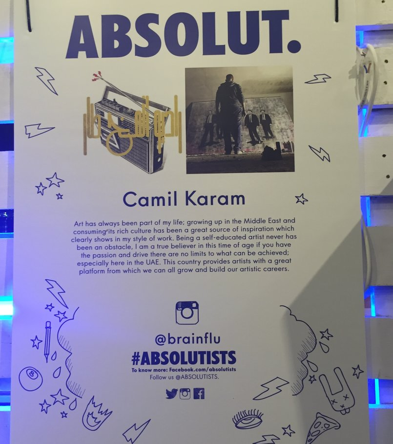 'Be the Art' Absolutists Design Competition