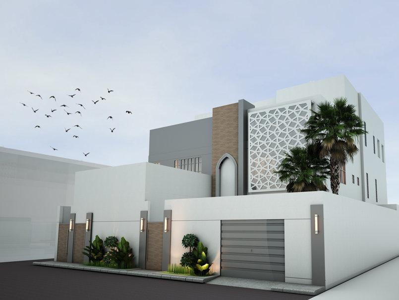 تصميم فيلا سكنية 3D