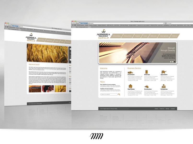 Al-Shoula Holding (KSA) Corporate Website
