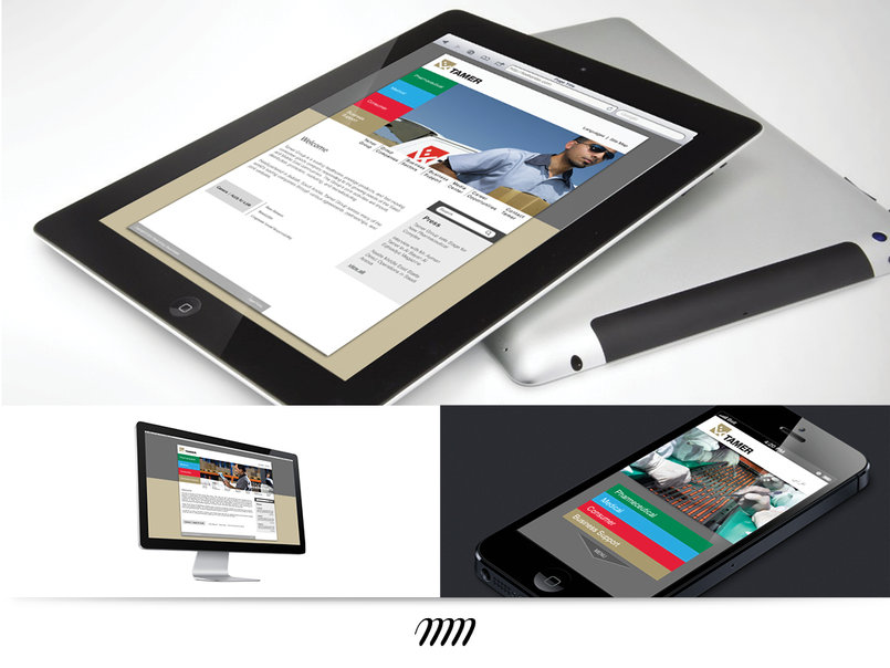 Tamer Group (KSA) Corporate website (Desktop + Mobile)