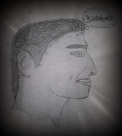 رسم صور طبق الأصل لمحمد ميدة