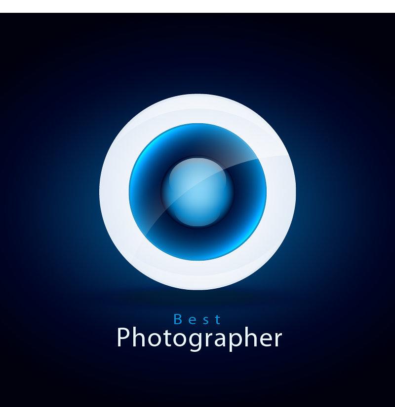 (Ai) نماذج شعار لمصور فوتوغرافي من تصميمي الحصري