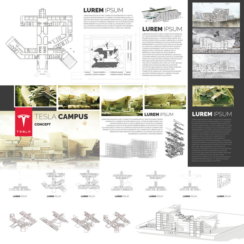 مبنى تيسلا الافتراضي