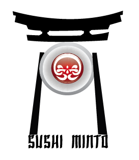 Sushi Minto restaurant logo option