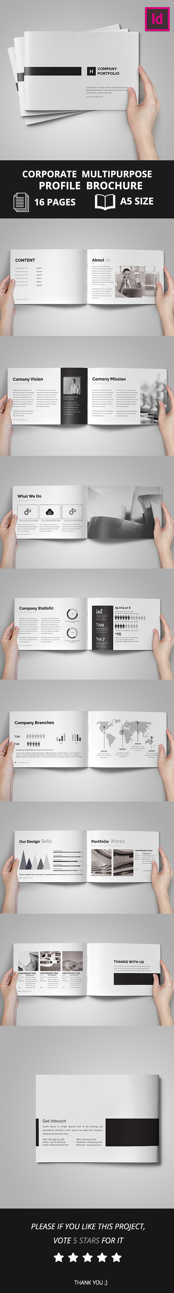 Company Portfolio Brochure 2016