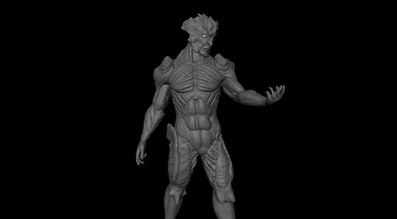 Digital sculpt