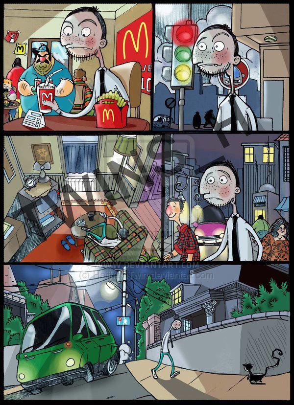 Mac boy Comic
