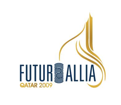 FUTURALLIA Qatar conference logo