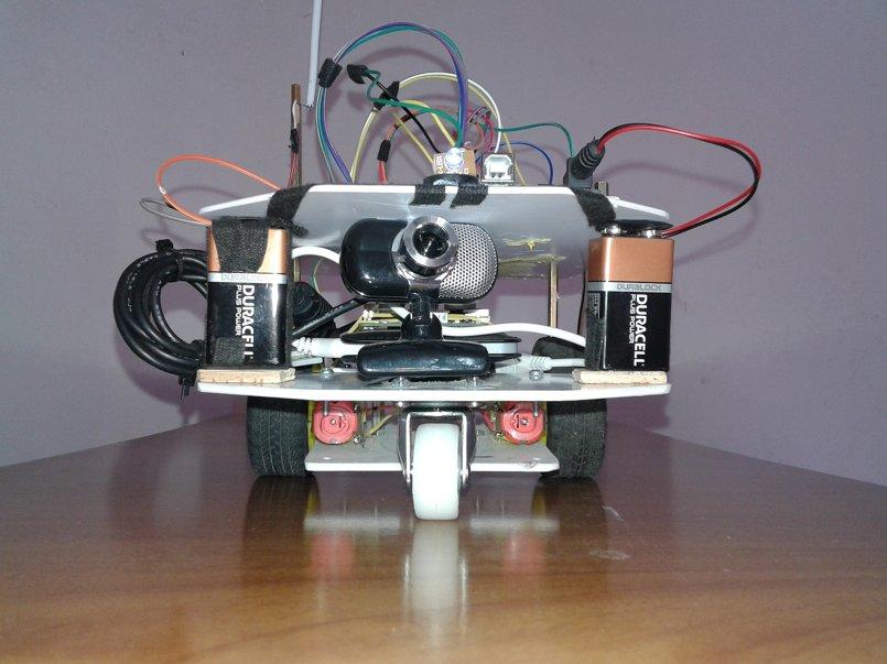 تحكم في روبوت عن طريق موجات الراديو