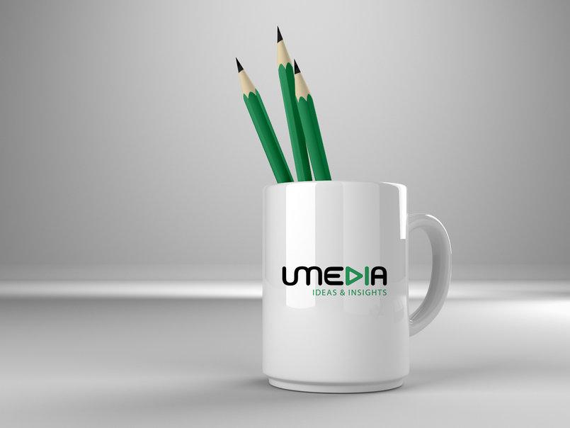 umedia logo & corporate identity