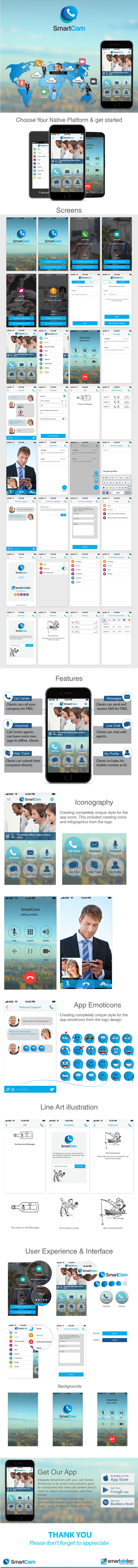 SmartCom I UI/UX