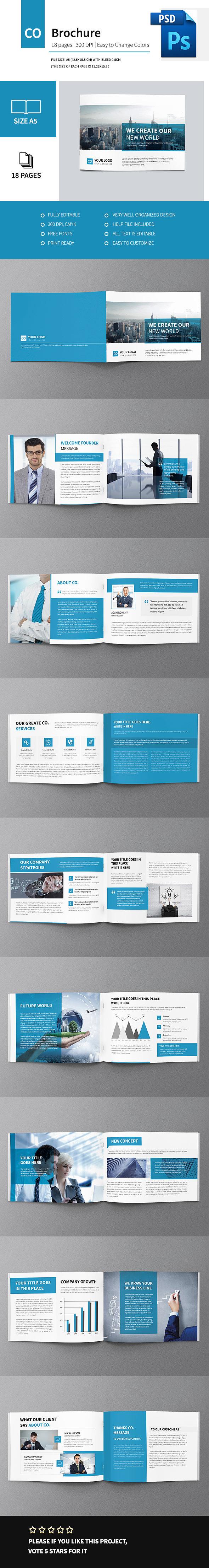 Corporate Multipurpose Business Brochure