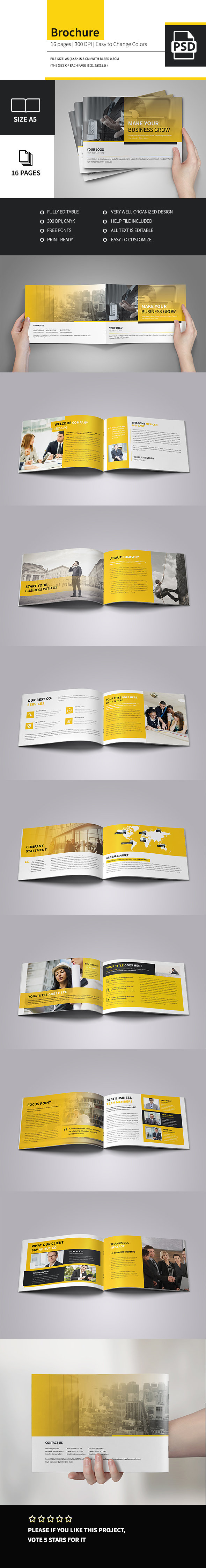 Minimal Corporate Multipurpose Business Brochure