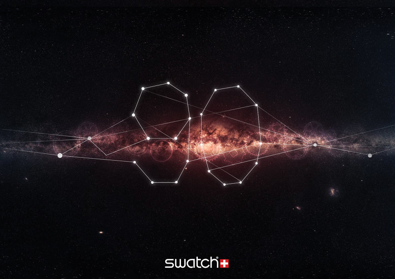 swatch advertisement