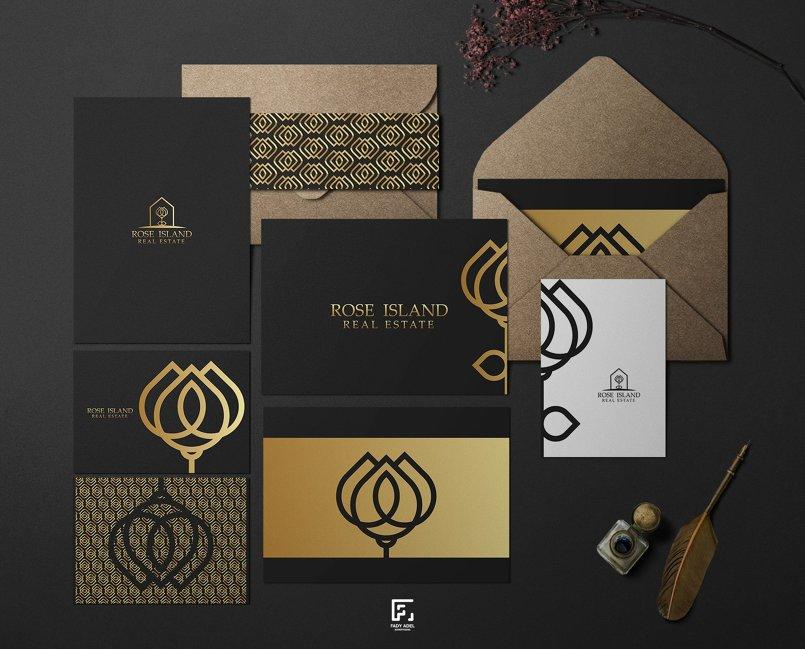 تصميم هوية لشركة عقارات