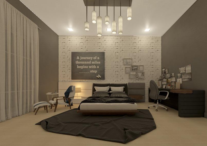 تصميم غرفة نوم موديرن