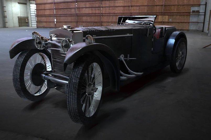 3d car modeling