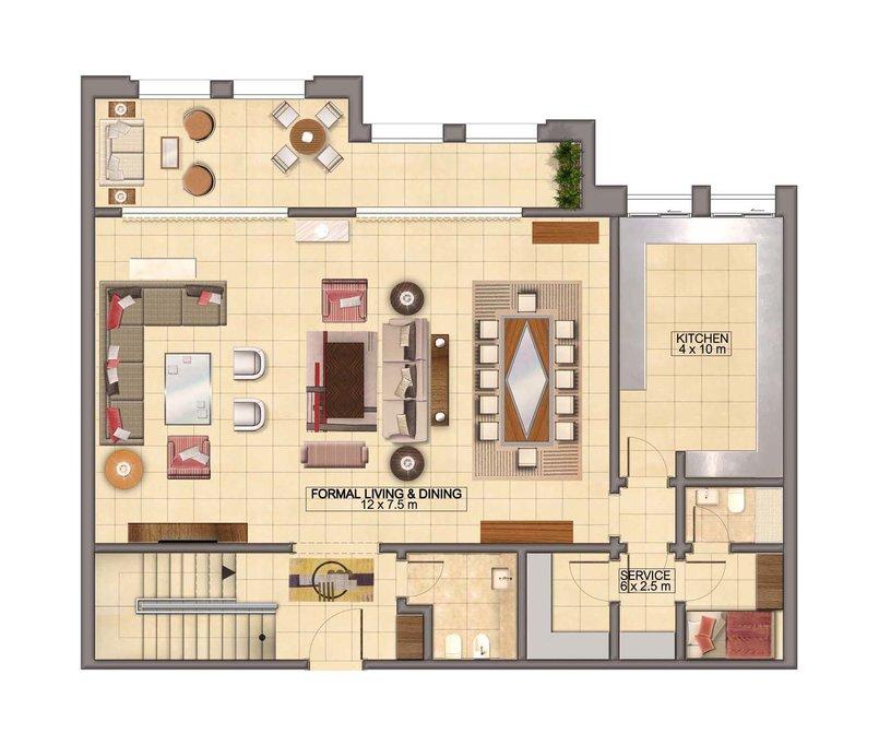 2D Architecture Plans
