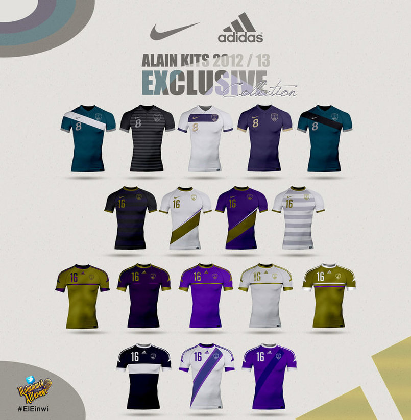 All Alain Club Kits 2013 1