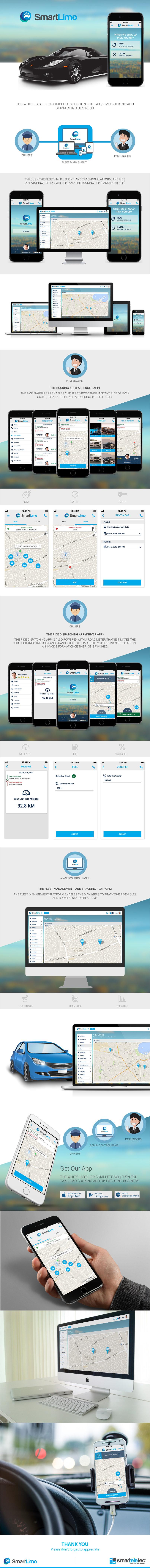 SmartLimo I UI/UX