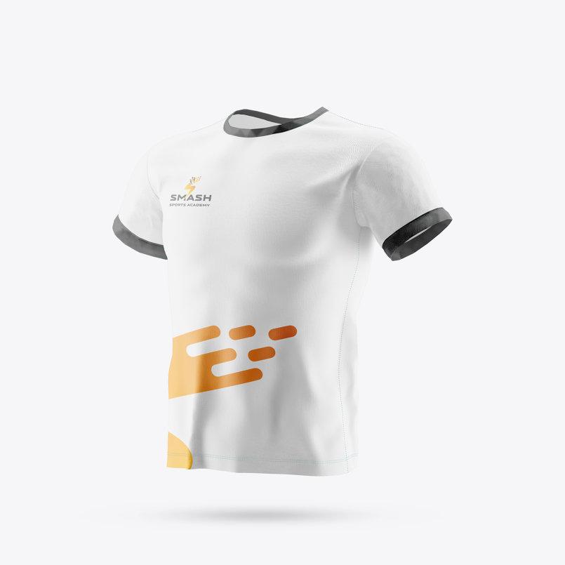 تصميم هوية ل أكاديمية رياضية فى دبى