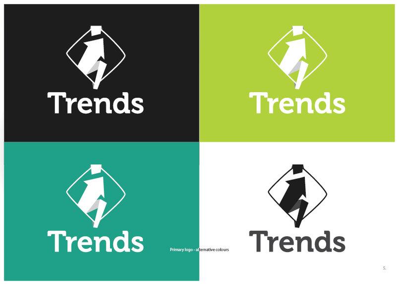 تصميم شعار Trends
