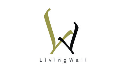 The Amman Living Wall project logo, Wadi Saqra.
