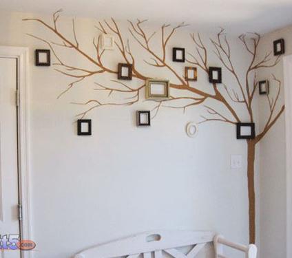 رسم ديكورات على الجدران