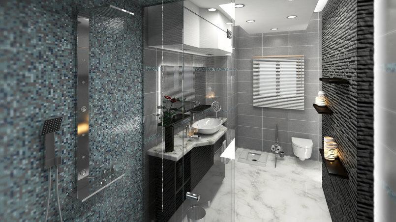 arabic bathroom visualising