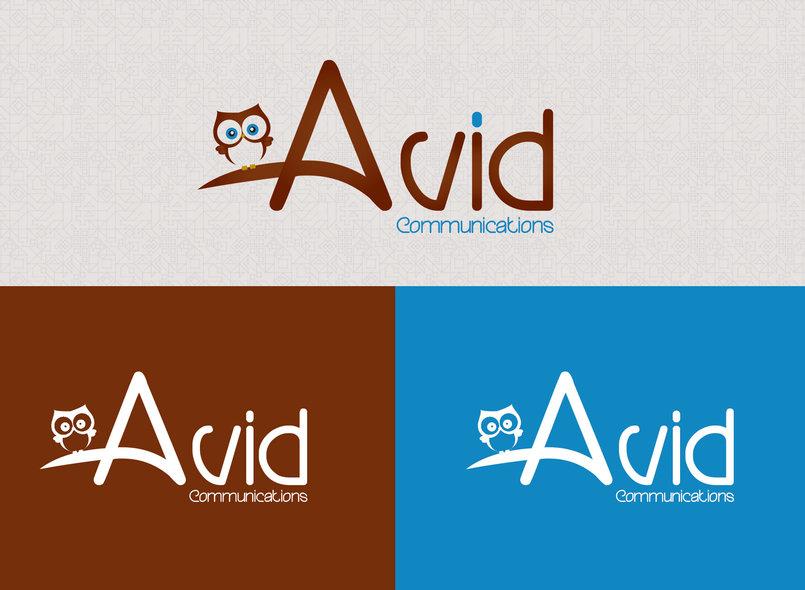 تصميم شعار شركة Avid للاتصالات