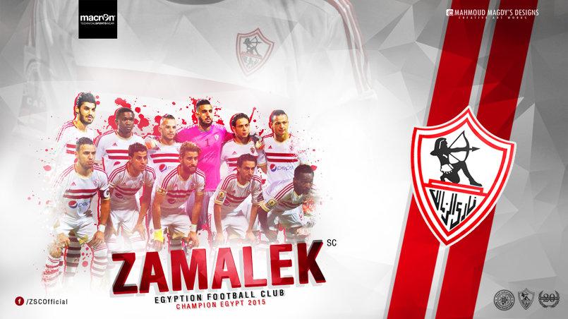 Zamalek SC Wallpaper 2015