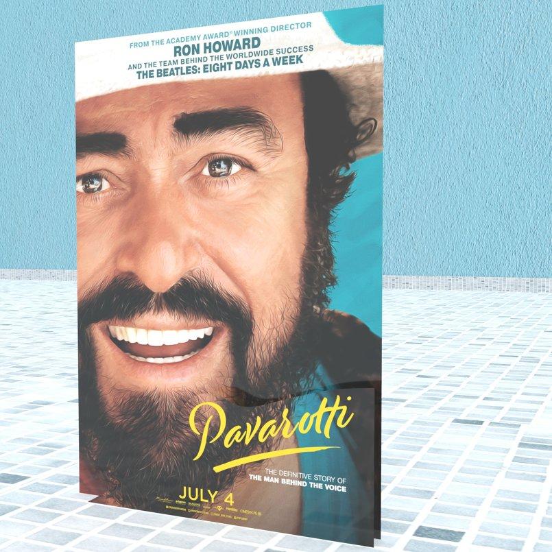 Pavarotti - Standee2