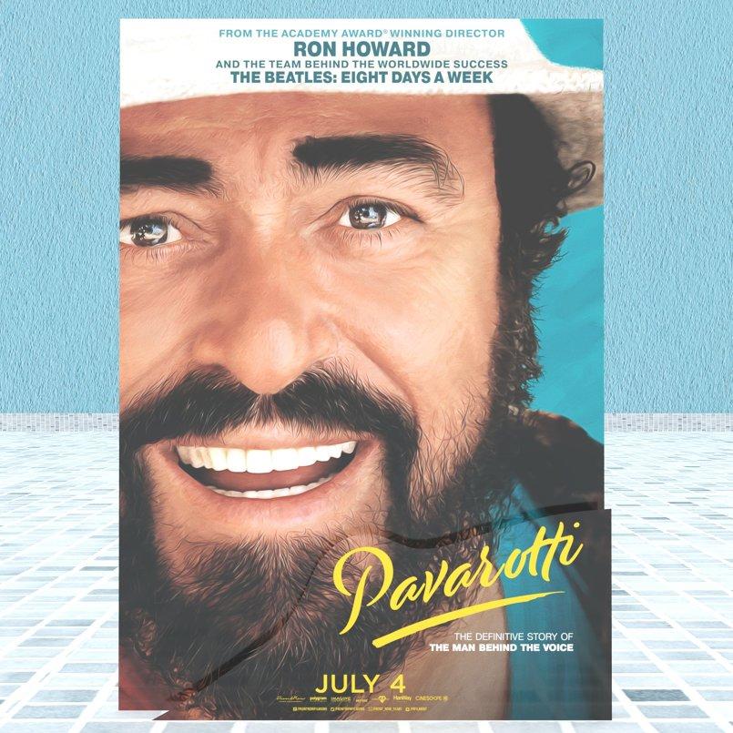 Pavarotti - Standee3