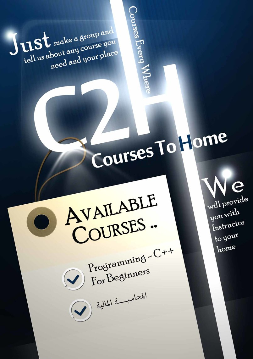 Courses To Home Adv.   Facebook Package .