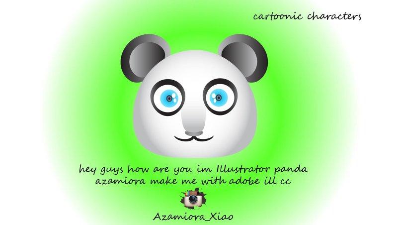 tasmeem panda Adobe Illustrator