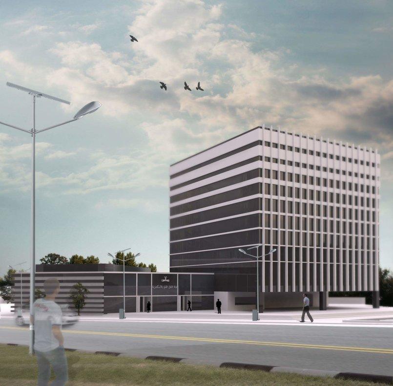 تصميم مبنى اداري