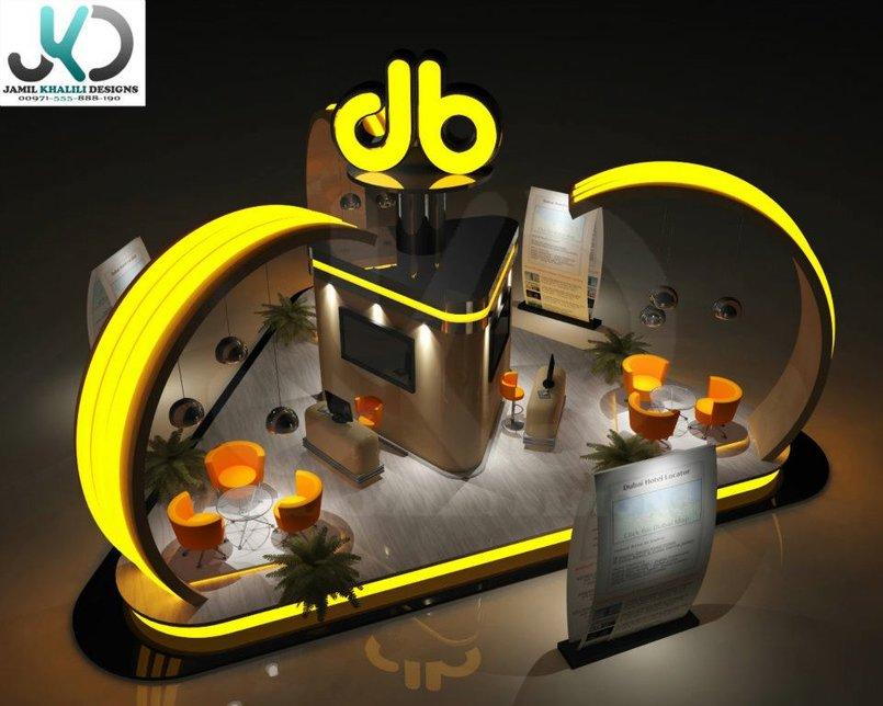 JB Exhibition booth -  3d Visualizer (freelancer) - UAE,Dubai.
