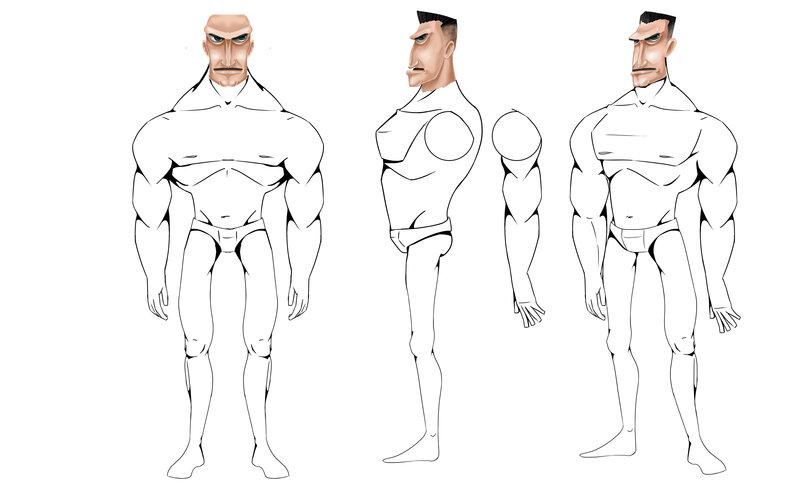 "Character Design ""Generale"""