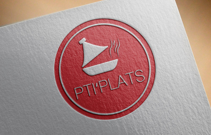 شعار مطعم PTI PLATS