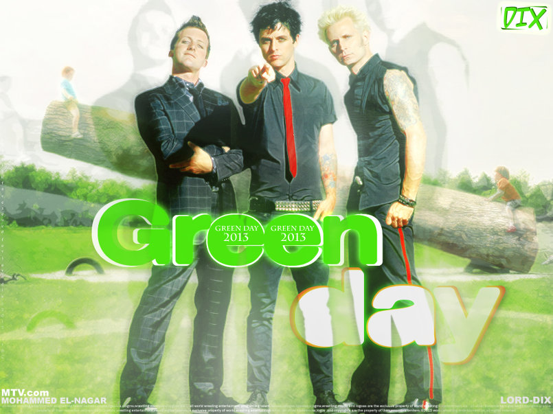 Green Day - Old Poster
