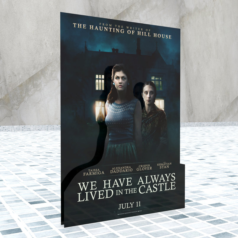 We Have Always Lived in the Castle - Standee - Prospective 1