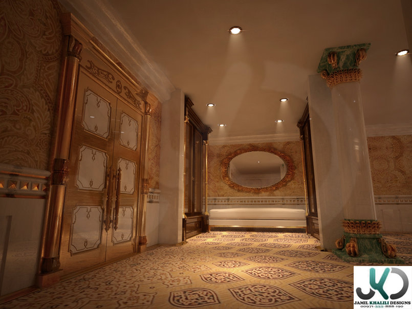 Luxurious Persian Suite - 3d Visualizer (freelancer) - UAE,Dubai.
