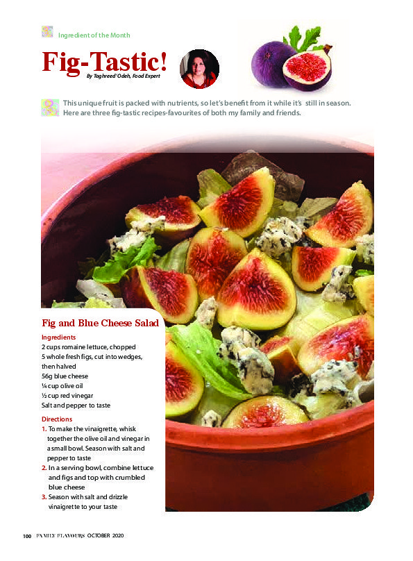 Sample of Family Flavours Magazine