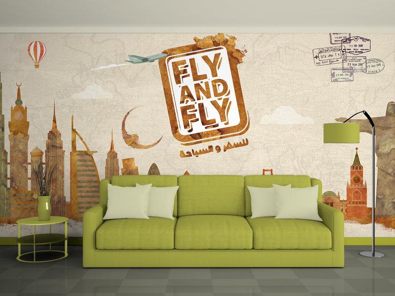 wallpaper for Travel agency