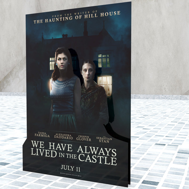 We Have Always Lived in the Castle - Standee - Prospective 2
