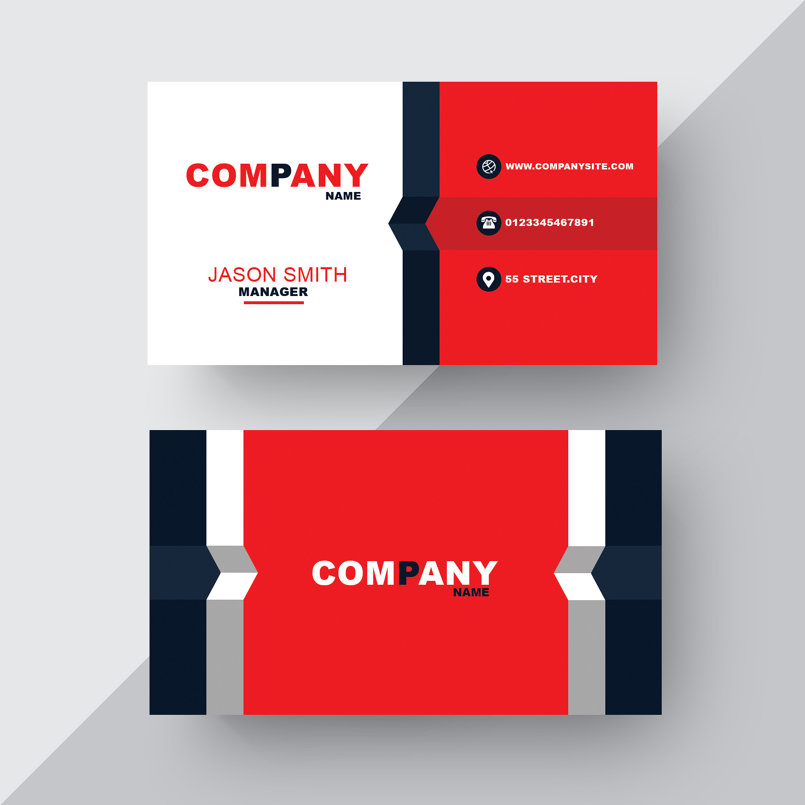 Formal Business Card